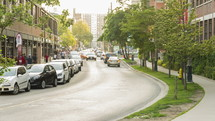 Liberty Street and Hanna Avenue Toronto