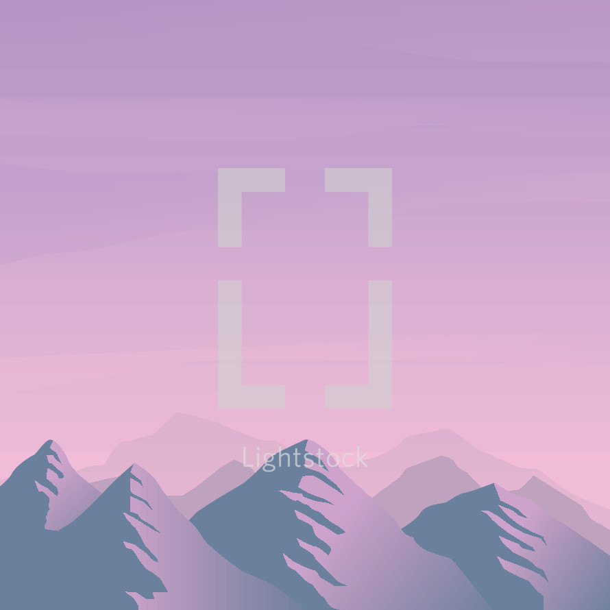 mountainscape illustration