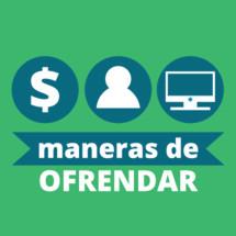 Ways to Give Vector / Maneras De Ofrendar  gráfico Vector