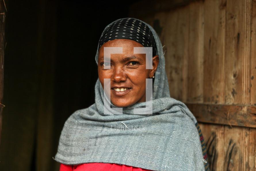 Shrouded Ethiopian Woman