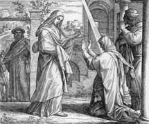 Mary Visits Elizabeth, Luke 1:39-45