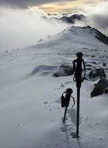 The summit of Mt. Townsend.