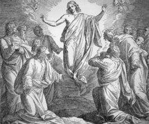 The Ascension of Jesus. Luke 24, 50-52