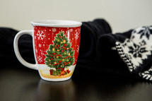 Christmas mug and sweater