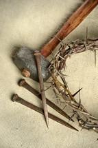 crucifixion tools