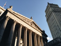 New York City Courthouse