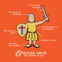 It's the Armor of God as described in Ephesians 6:10-18.