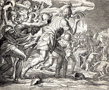 Gideon Defeats the Midianites, Judges 7:16-21