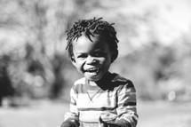 laughing boy child