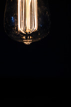 elements in an Edison bulb