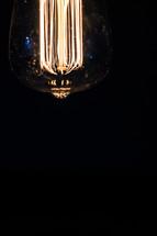 elements in an Edison bulb
