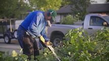 community outreach, yard work