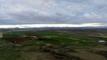 rural landscape in Ireland