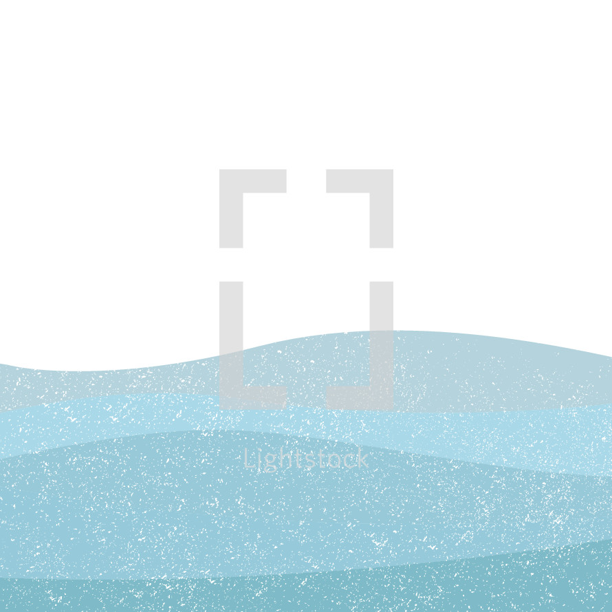 abstract waves background illustration.
