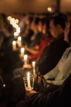 A Christmas Eve Candle Light service