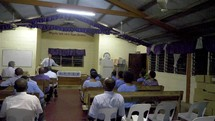 Bible study in Papua New Guinea