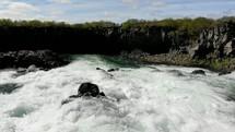 flowing river in Ireland