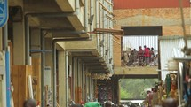 Burundi street market