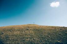 Cross on top of the hill