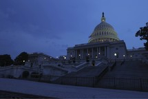 time-lapse of US Capitol