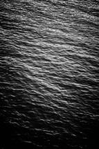 Minimal black texture background water