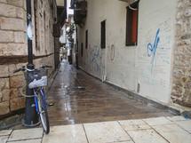 wet alley in Turkey