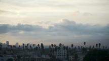 LA city skyline