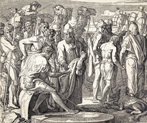 Joseph Sold by His Brothers, Genesis 37:23-28
