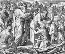 Jesus Feeds the Five Thousand, John 6: 3-14