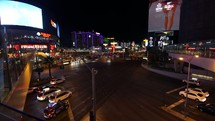 Las Vegas Strip Traffic Timelapse