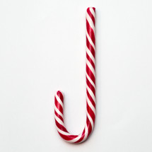 candy cane on a white background