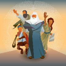 Bible Heroes - Abraham, David, Paul, Deborah