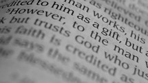 Trust God  - words in the Bible
