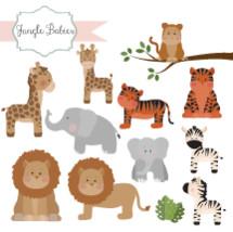 jungle and safari babies