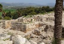 "Solomonic gate at Megiddo (""Armageddon"")"