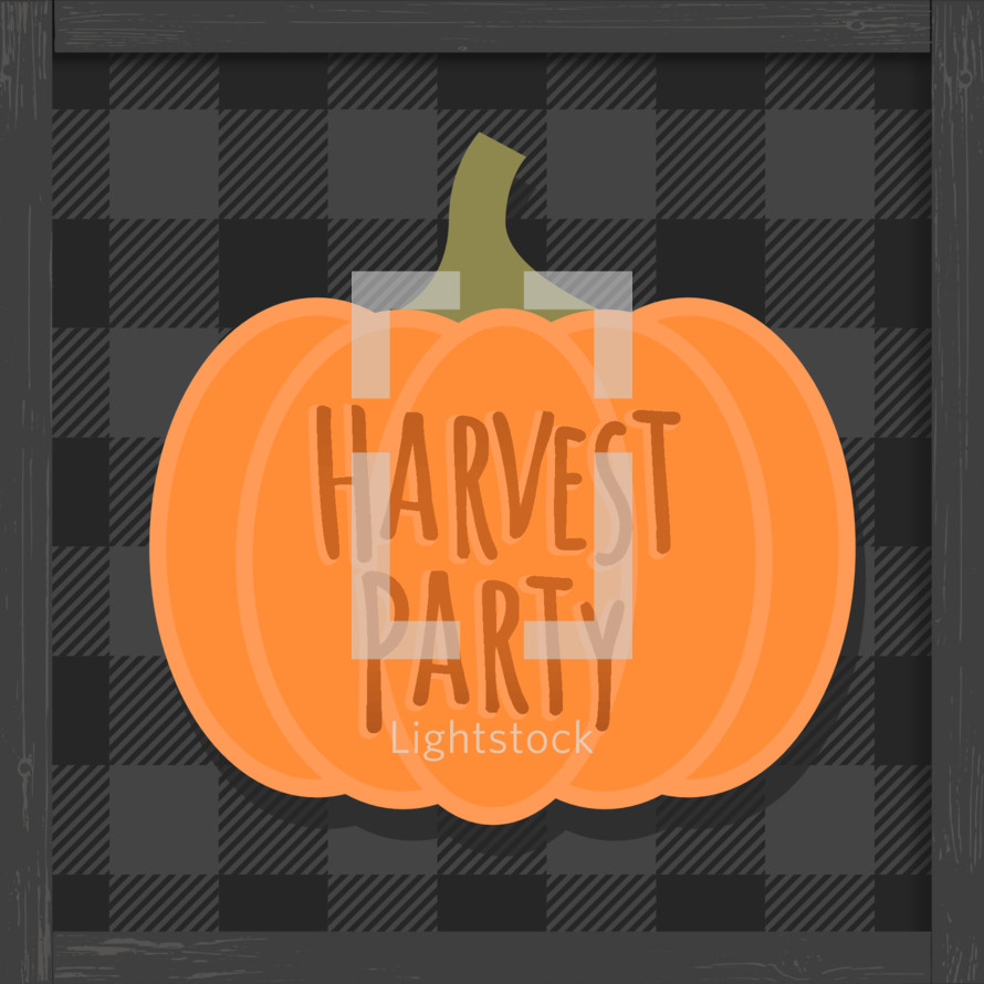 halloween alternative harvest party festival church outreach graphic
