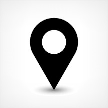 gps pin points. Map pin sign place location icon in flat style. Graphic element for design saved as an vector illustration in file format EPS