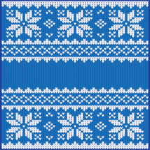 Swedish, Christmas, sweater, pattern, blue, white, snowflakes, winter, fabric