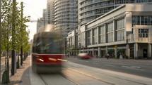 city bus in Toronto