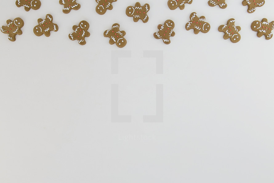 ginger bread cookie border