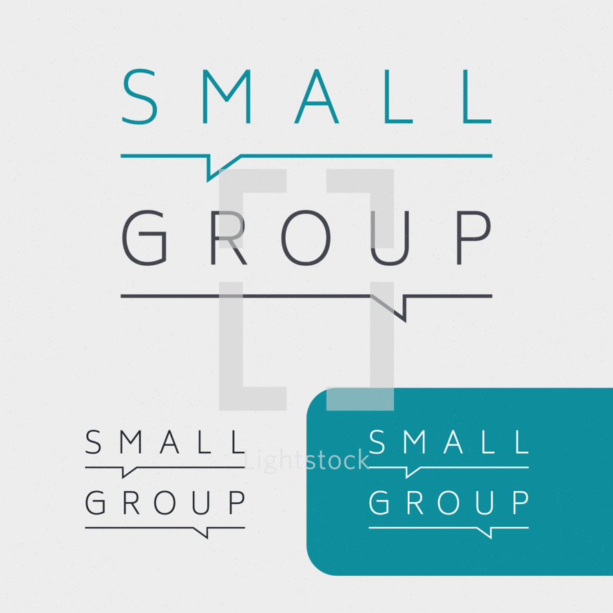 small group ministry logo and graphics