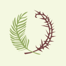 thorns and palm frond icon
