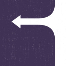 arrow moving backwards