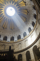 Interior Church Holy Sepulchre Israel