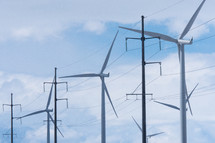 Wind Turbines with Electricity