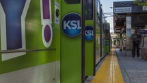Salt Lake City train timelapse