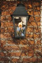 gas lantern lamp