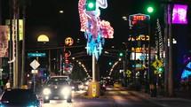 Las Vegas Freemont Street.