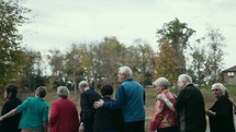 a group of senior citizens