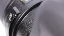 Mode dial lock of the camera reflex - macro, crane shot, changing focus